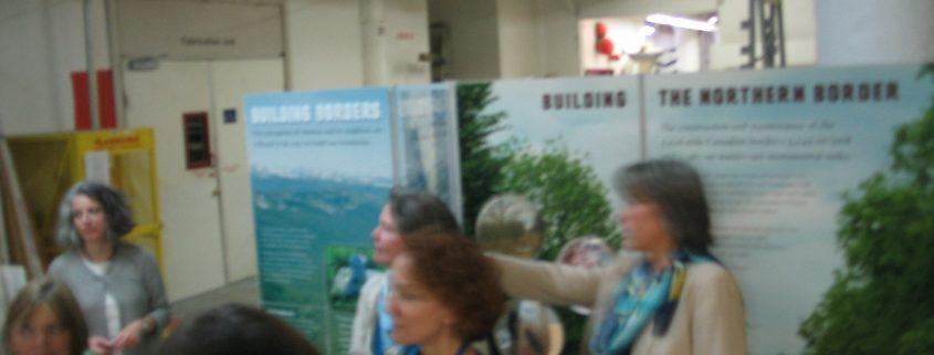 Exhibits office tour 2002