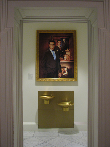 Colbert portrait at National Portrait Gallery