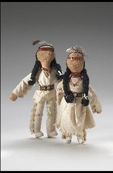 Penobscot dolls