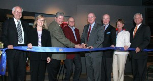 Museum stakeholders cut the ribbon to the new Museum and permanent exhibition.