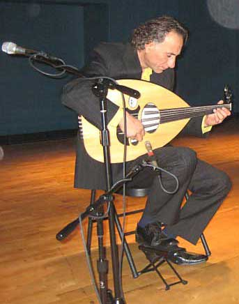 Oud virtuoso Rahim AlHaj performs at the Arab American National Museum