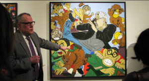 David Ward of the National Portrait Gallery discusses a painting by Roger Shimomura.