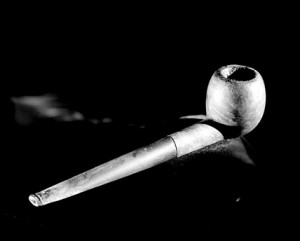 Albert Einstein's Pipe. Photo courtesy National Museum of American History.