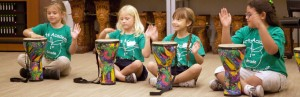 Drumming at the Musical Instrument Museum in Phoenix.