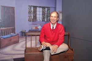 A life-size version of Mr. Rogers, originally from the Pittsburgh area, appears in the Heinz Center's exhibition on innovation. (Senator John Heinz History Center)