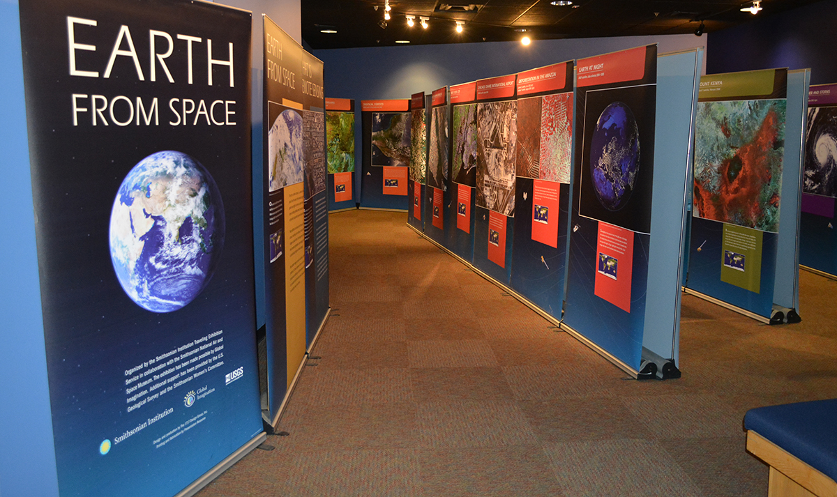 Earth from Space exhibition in New Mexico