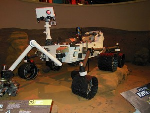 Mars Rover prototype on loan from NASM.