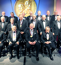 The 2015 class of inductees to the National Inventors Hall of Fame.