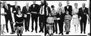 Allen Ginsberg's Family, Paterson, New Jersey, May 3, 1970. Photograph by Richard Avedon © The Richard Avedon Foundation. From the Collection of The Israel Museum, Jerusalem. Gift of the American Contemporary Art Foundation, Leonard A. Lauder, President, to American Friends of the Israel Museum, Jerusalem