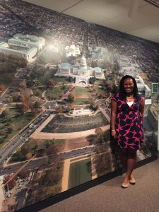 Freedom Center Apprentice Brittany Vernon comes to Washington to work with education colleagues at the Anacostia Community Museum