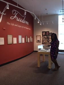 Brittany passionately pursues African American history and culture, and issues of freedom and social justice in her museum career.