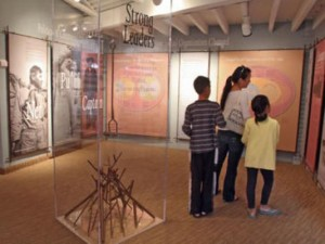 IndiVisible, a Smithsonian traveling exhibition on African-Native American Identity, is set to open at the Agua Caliente Cultural Museum on January 19 in Palm Springs. Photo: Jay Calderon/The Desert Sun.