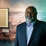 Sam Black, President of the Association of African American Museums and curator at the Heinz History Center in Pittsburgh.