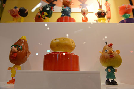 "Mr. Potato Head and Friends on display at ""Toys of the '50's, '60's and 70's,"" at the Heinz History Center."