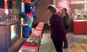 Visitors at the Senator John Heinz History Center.