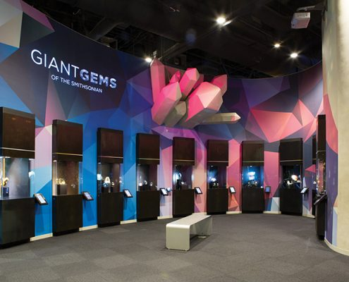 Perot Museum exhibition Giant Gems of the Smithsonian