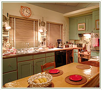 Kitchen Table in Julia Child's kitchen
