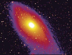 photo of andromeda galaxy