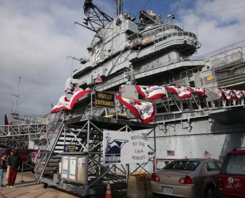 USS Hornet ship