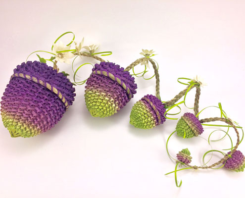 acorn shaped baskets