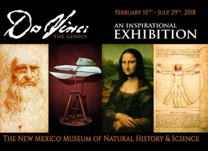 DaVinci at New Mexico Museum of Natural History and Science
