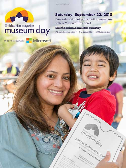 Museum Day Ad