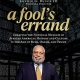 A Fools Errand book cover featuring Lonnie Bunch on the cover