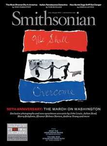 cover of smithsonian magazine from 2013 with