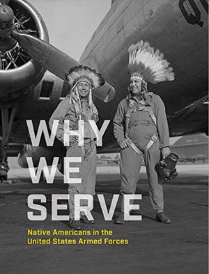 book cover for why we serve