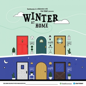 Winter At Home activity Guide cover