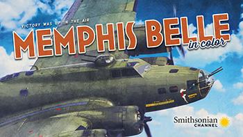 Memphis Belle plane in the air