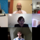 Zoom meeting with seven people