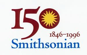 smithsonian 150th anniversary logo