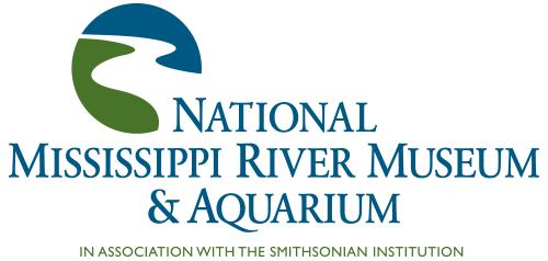 National Mississippi River Museum and Aquarium logo