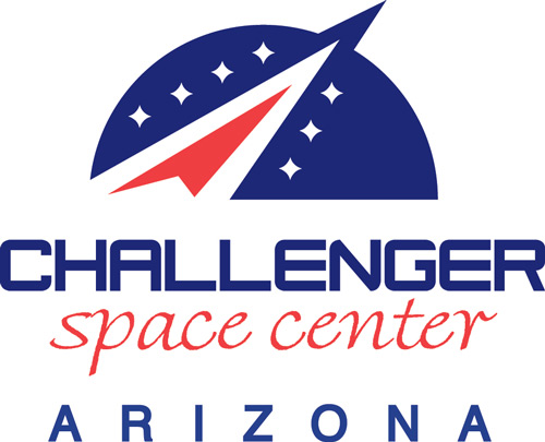 Challenger Space Center of Arizona logo