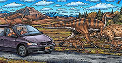 Cruisin' the Fossil Coastline exhibition image