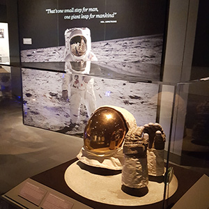 Destination Moon: The Apollo 11 Mission exhibition exhibition image