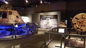 Destination Moon: The Apollo 11 Mission (SITES) exhibition image