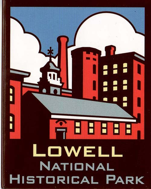 Lowell National Historical Park logo