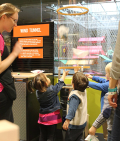 Spark!Lab Invention Interactive Exhibit